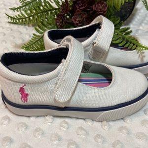 Ralph Lauren white sneakers size 7